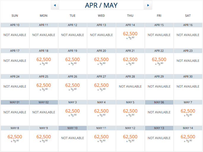 Virgin Atlantic is relatively generous with releasing award inventory to partners like Delta.