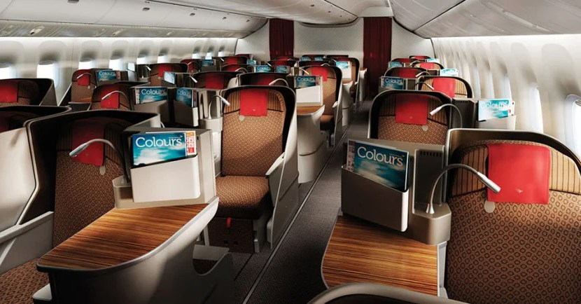 Garuda Indonesia Business Class Featured