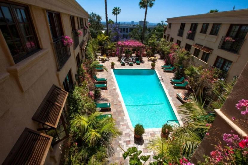 Best Western Plus Sunset Plaza Hotel. Photo courtesy of hotel.