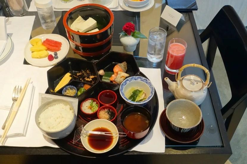 The full Japanese breakfast.