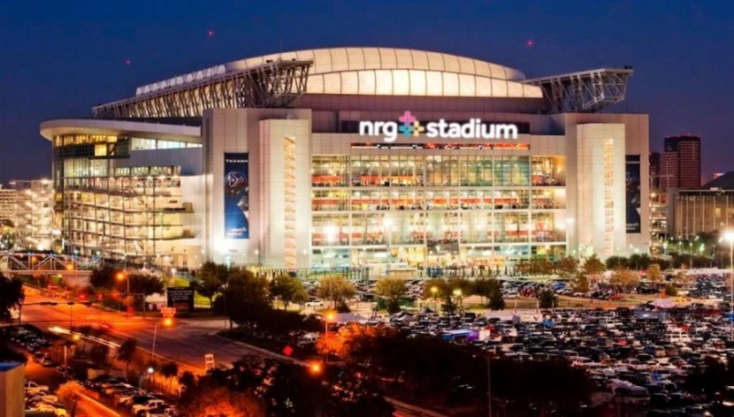 NRG Stadium in Houston, Texas.