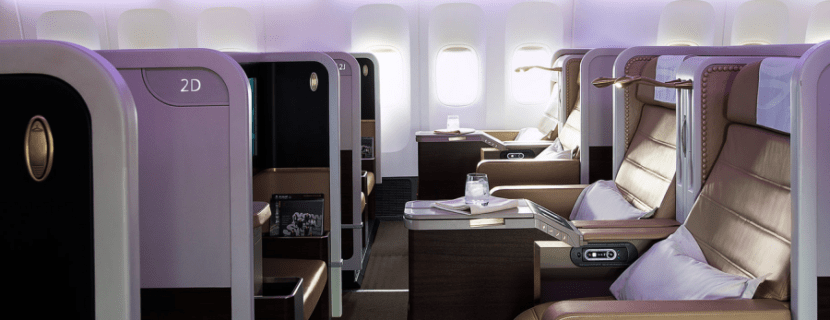 Saudia's first class hard product looks very comfortable, though you'll need to make it through 16+ hours with no alcohol!