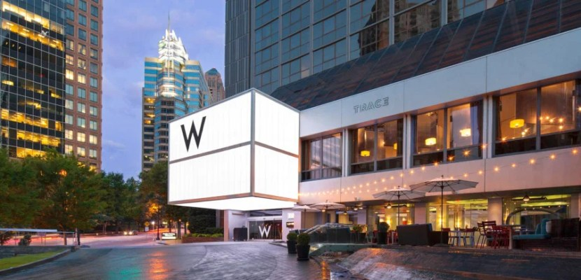 Earn points with the SPG Amex to use at W properties.