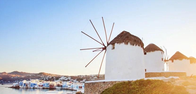 Mykonos windmills shutterstock_254544955