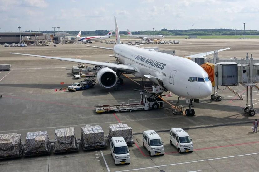 Our JAL 777-300ER.
