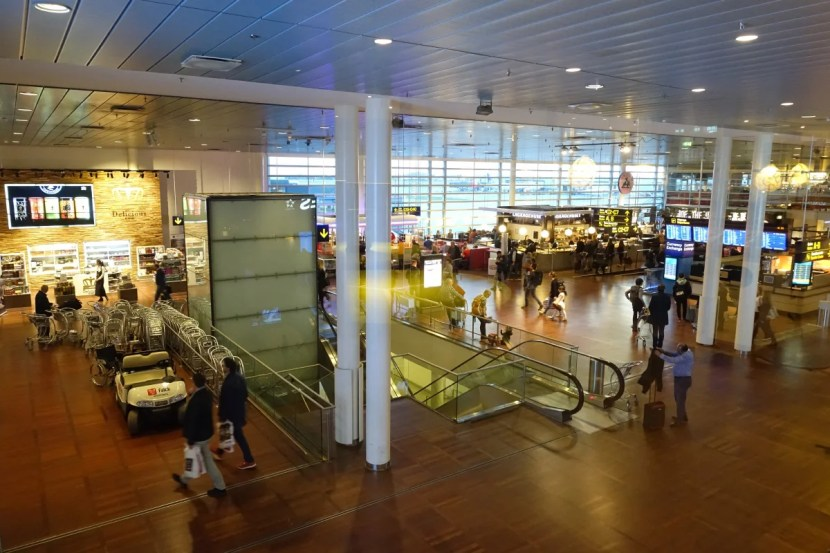 The main terminal is fairly nice, but there's nothing to do once you go through immigration.