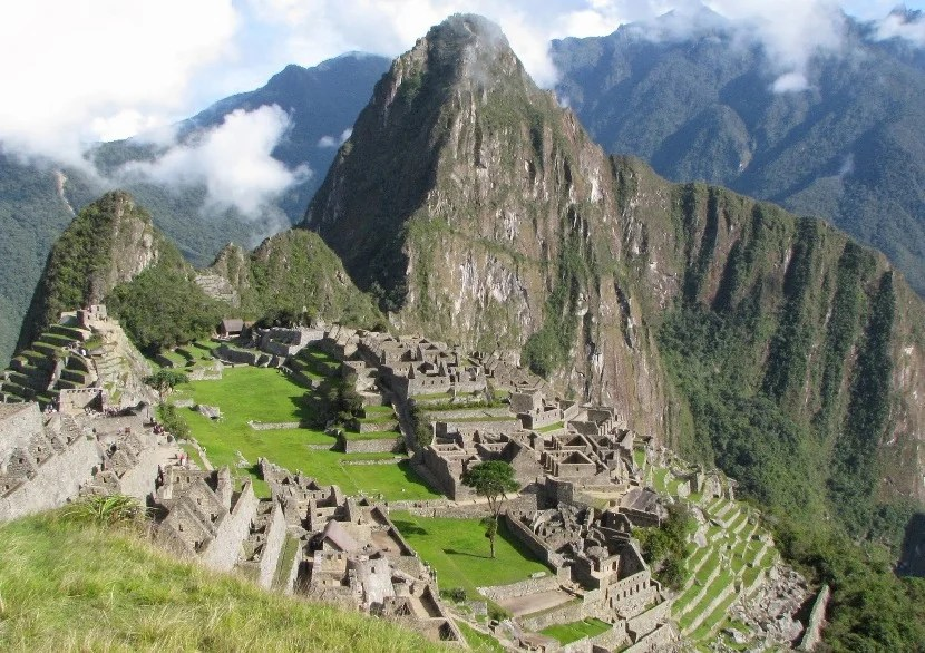 Machu Picchu in the morning. Photo by the author.