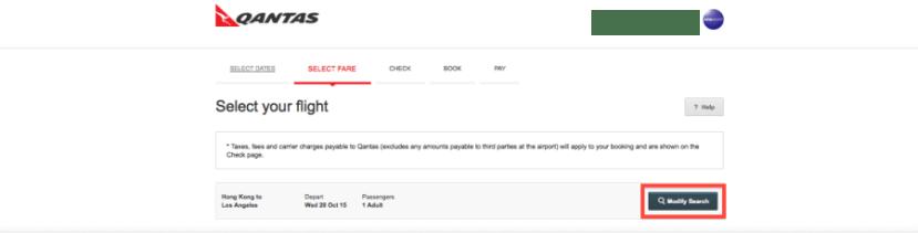 Qantas modify