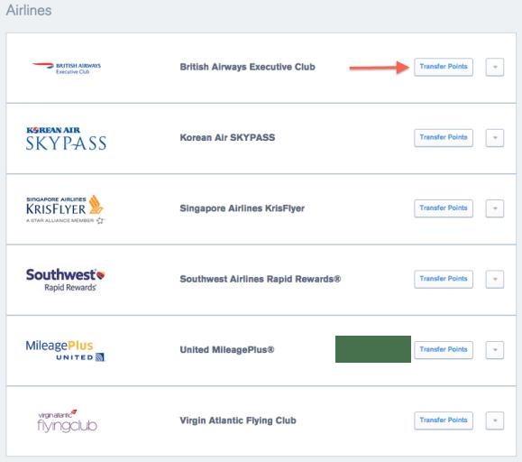 UR Airline Partners BA