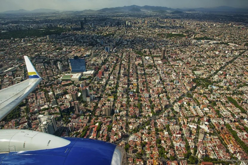 Wings over Mexico City. Photo courtesy of Shutterstock.