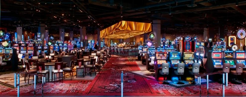 The SLS Las Vegas casino.