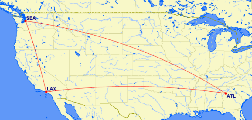 Why fly non-stop when you can earn more MQMs (and segments) by including a layover?