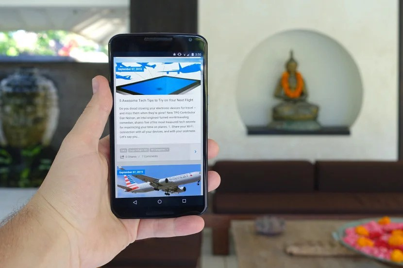 Using Google's Project Fi to stay connected in Bali.