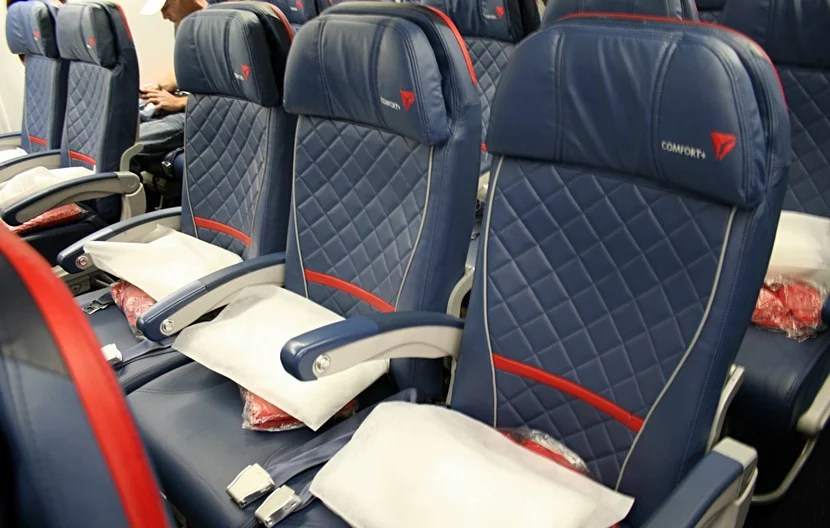 Delta Comfort+ is okay, but I don't personally find it worth the extra cash.