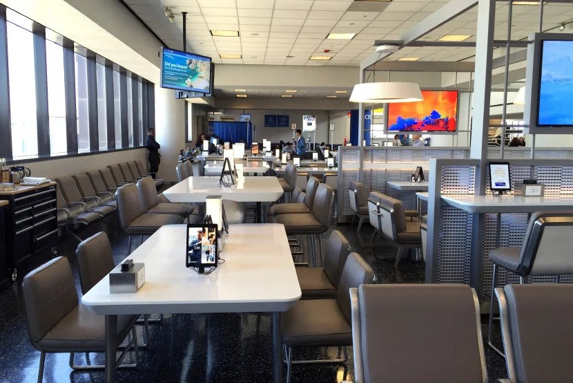 United is investing in improved gate areas at Newark.