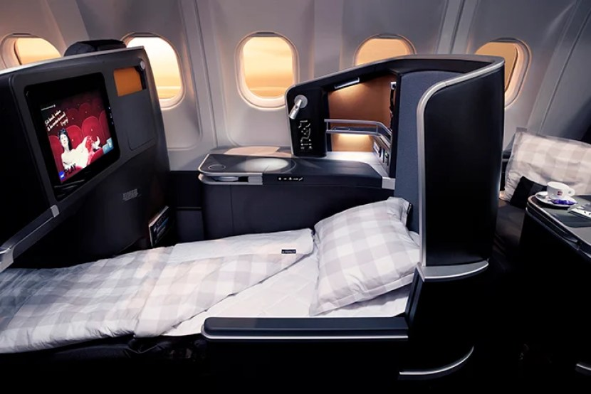 SAS is putting a new business class on its entire long-haul fleet, but you can already fly it from a few US cities. Photo courtesy of SAS.