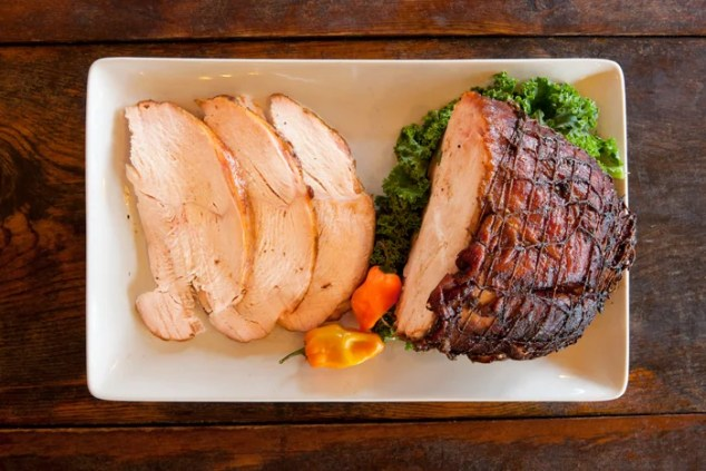 Habanero Smoked Turkey Breast. Photo courtesy of Salt Lick Bar-B-Que.
