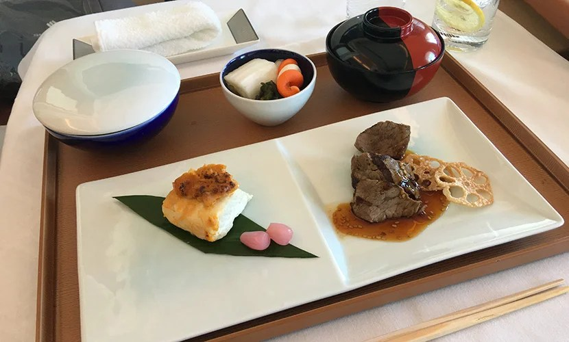 The yakimono and gohan courses rounded out the…t of the meal.