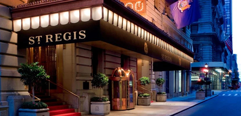 Win Starpoints to use at the St Regis in New York.