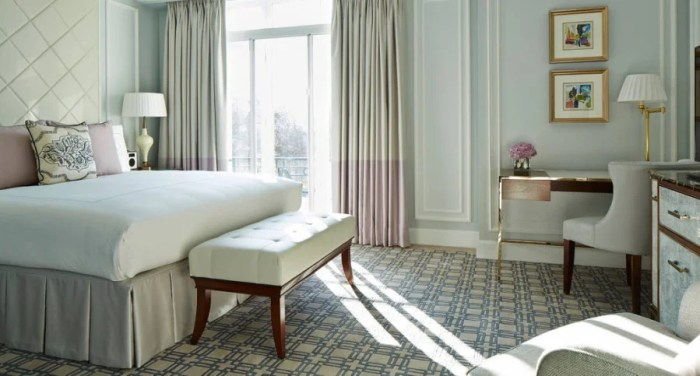 Here is what my room at the Park Lane would have looked like. Photo courtesy Marriott.