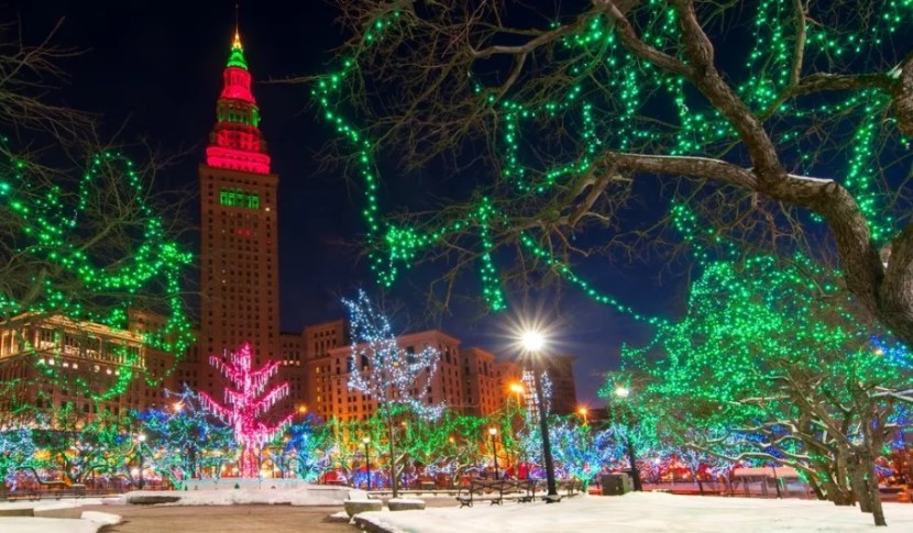 Visit Winterfest in Cleveland, Ohio. Photo courtesy of Shutterstock.