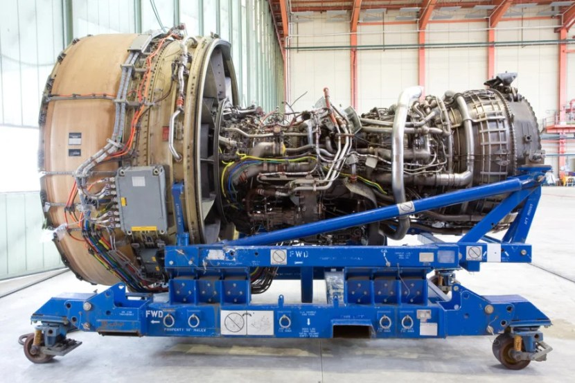 Engines are interchangeable and not married to a specific aircraft. Photo courtesy of Shutterstock.