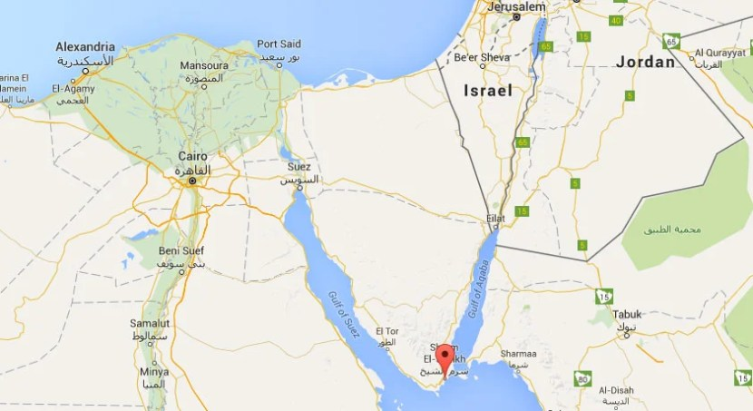 Sharm El-Sheikh is located in a remote part of Egypt, making land departures difficult.