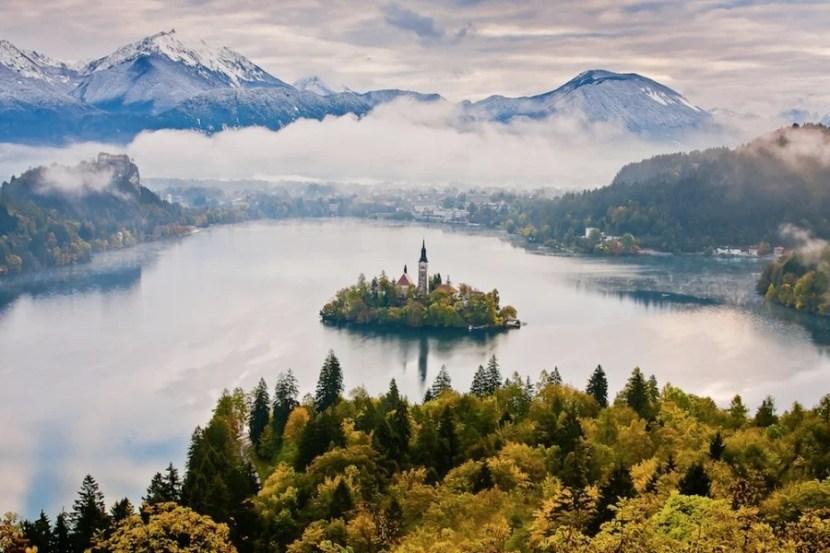 A panorama of Slovenia's breathtaking Lake Bled. Photo courtesy of Slovenia Tourism.