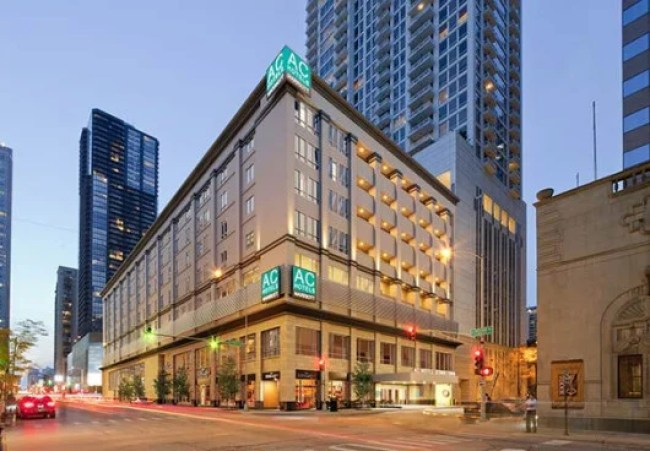 The AC Hotel Chicago Downtown is located just steps from the Magnificent Mile.
