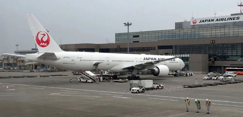 JAL's 777s and some 787s feature its newest business class.