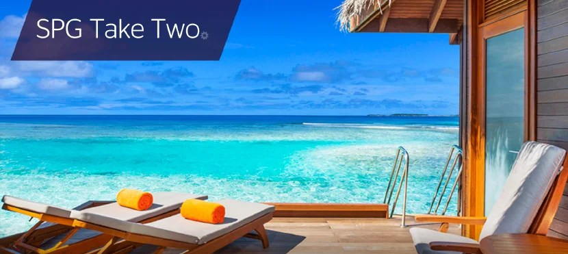 Register for SPG's Take Two promo.