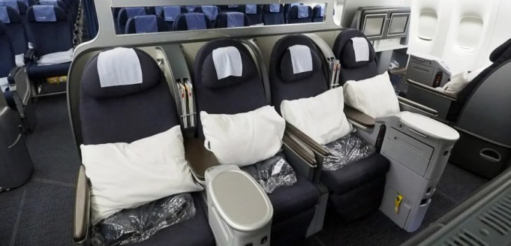 United's new generation of business class seats will debut on their Boeing 777-300ER aircrafts coming end of 2016.