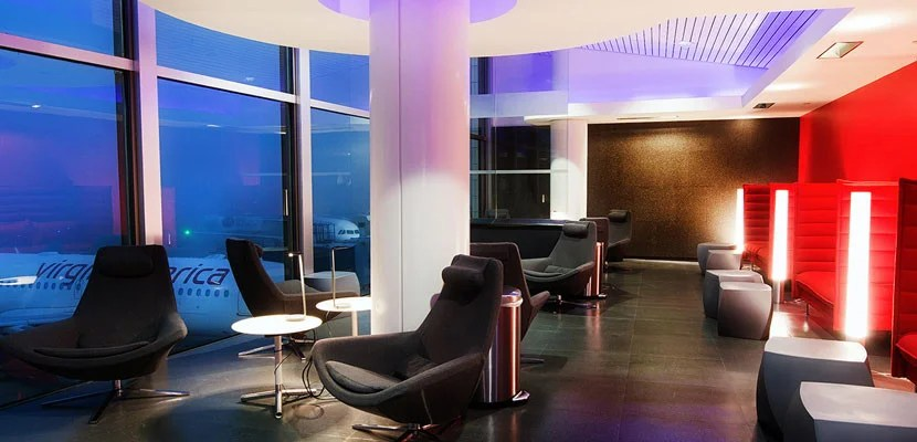 You can get access to the Virgin America Loft at LAX with a Priority Pass Select membership.