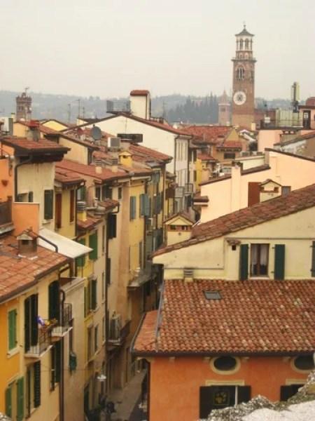 Stroll Verona's narrow, cobblestone streets hand-in-hand.