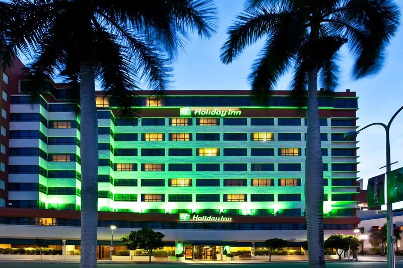 The Holiday Inn Port of Miami. Image courtesy of the hotel.