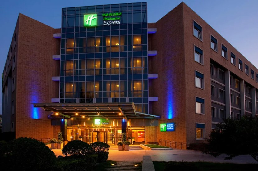 The Holiday Inn Express Shangdi Beijing in China in increasing from 10,000 to 20,000 points.