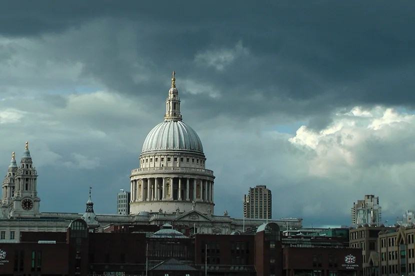 St. Paul's Cathedral. Image courtesy of Mitch Berman.