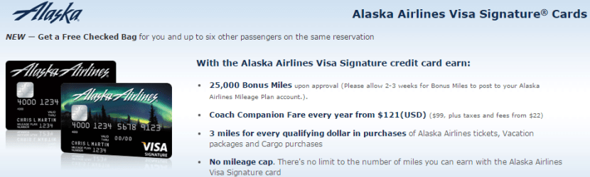Alaska Airline credit card offer