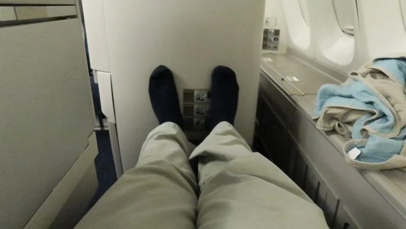 The standard Club World seats only have 6 feet of pitch, so make sure to get an exit row seat if you're taller.