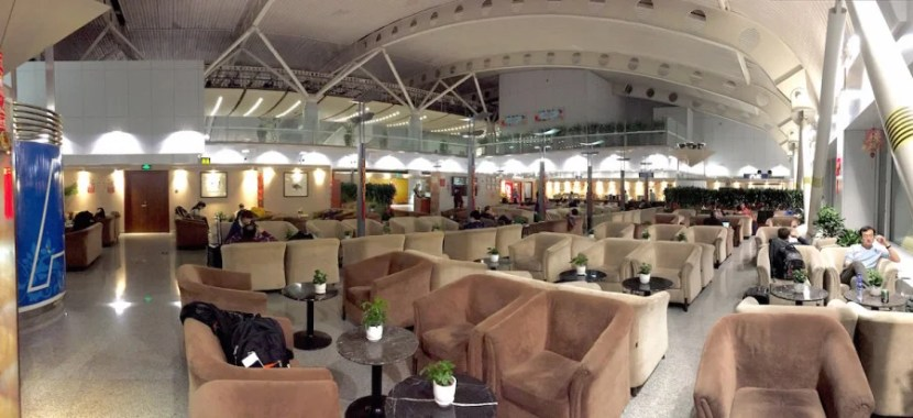 The main lounge area.
