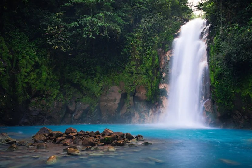 The striking blue Rio Celeste is one of Costa Rica's best-kept secrets.