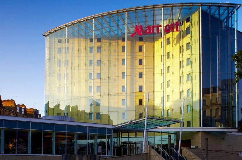 The London Marriott Hotel Kensington. Image courtesy of Marriott.