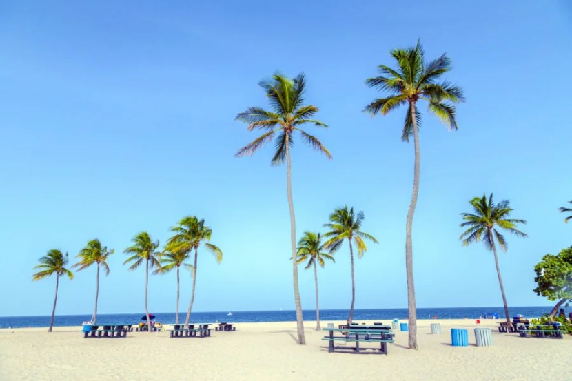 Fort Lauderdale has gorgeous beaches. Image courtesy of Shutterstock.