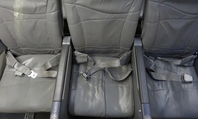 Bulkhead seating is not as wide as regular economy because the armrests don't move.