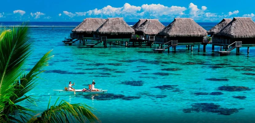 Put all those Hilton free night certificates to use at a property like the Hilton Moorea in Tahiti.
