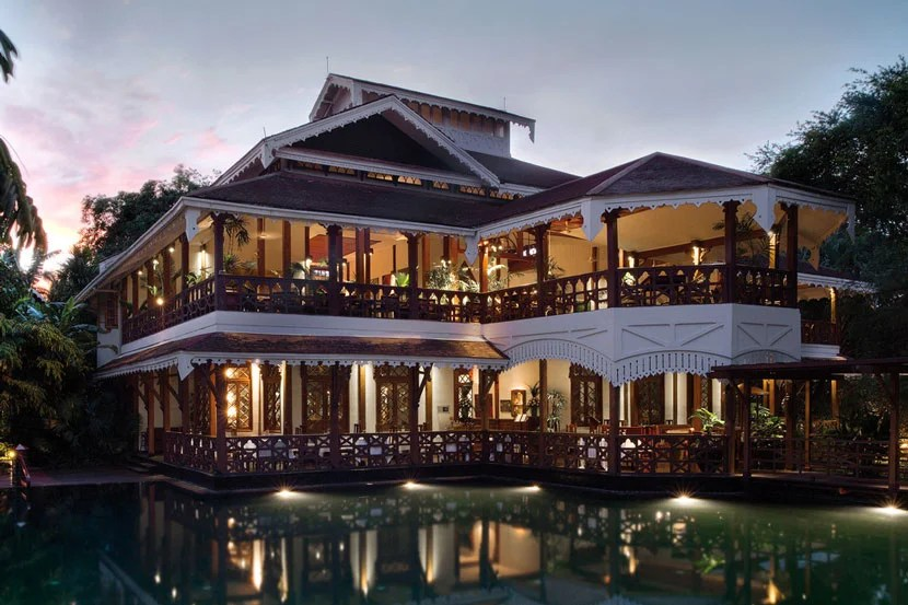 Belmond Governor's Residence in Yangon, Myanmar. Image courtesy of the hotel.