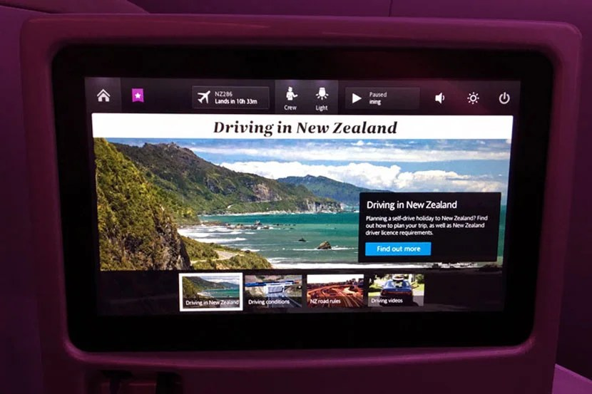 I thoroughly enjoyed learning a little about New Zealand life on the way there.