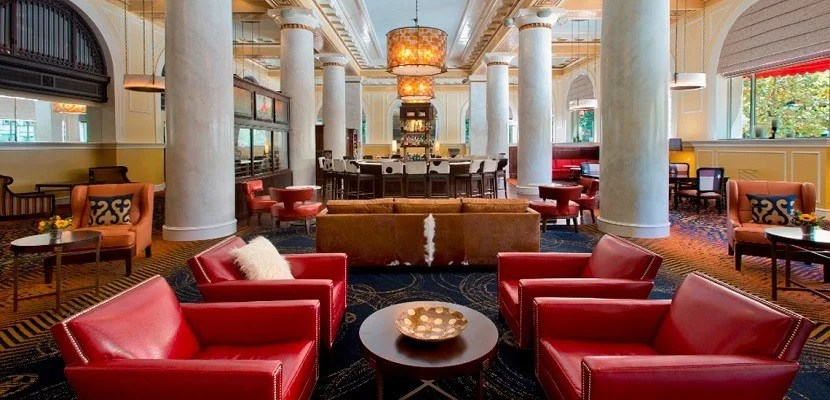 Marriott AC Hotel Icon Houston bar featured