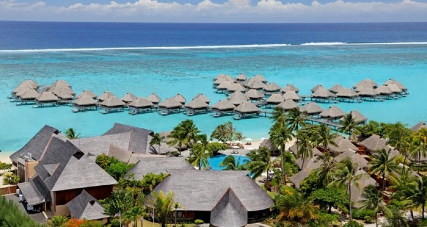 Get a free night at a Category property like the Hilton Moorea.