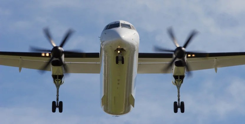 A Dash 8. Image courtesy of Shutterstock.